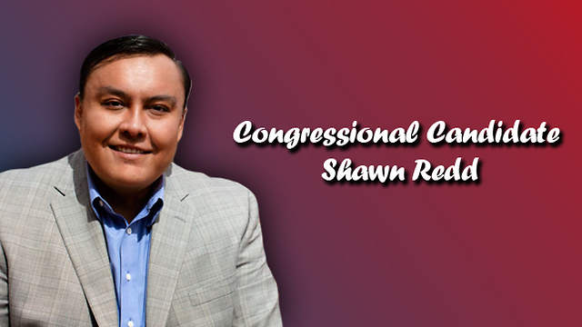 Shawn Redd, congressional hopeful hoping to be the first Navajo in congress
