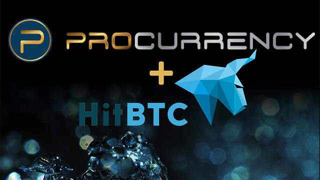 ProCurrency Announces Listing with Global Exchange, HitBTC