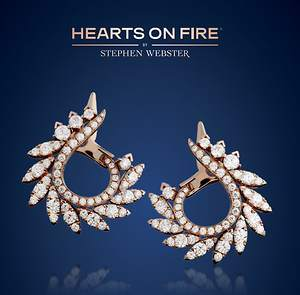 Bernie Robbins Jewelers Introduces Acclaimed Designer Stephen Webster's New Hearts On Fire
