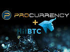ProCurrency Announces Listing With Global Exchange HitBTC
