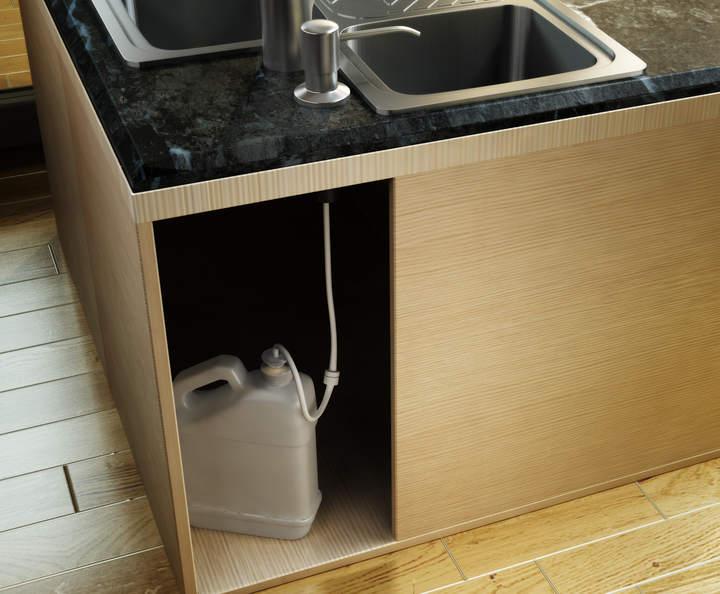 Built in Soap Dispenser Extension Tube