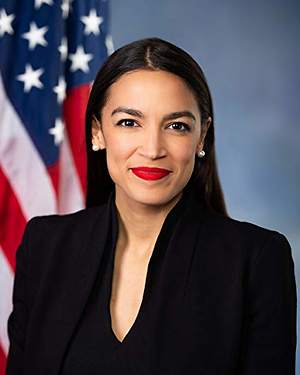 Ocasio-Cortez responds to 'AOC Sucks' chant