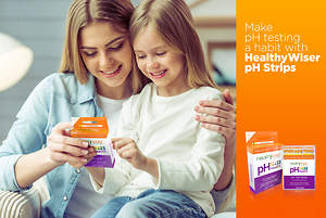 HealthyWiser Launches pH Test Strips on Amazon