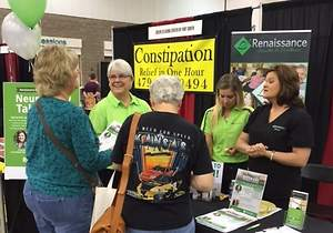 Renaissance Talks Hormone Balance at Women's Expo
