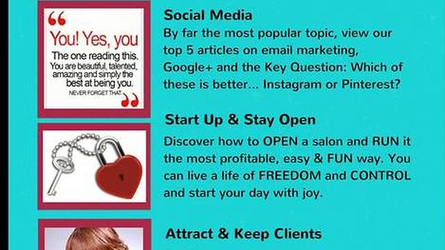 Salon Owner Success Blog Top 15 Posts