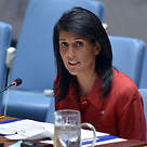 Nikki Haley in the UN