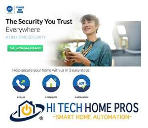 ADT Security and Hi Tech Home Pros Partner to Enhance Smart Home Experience