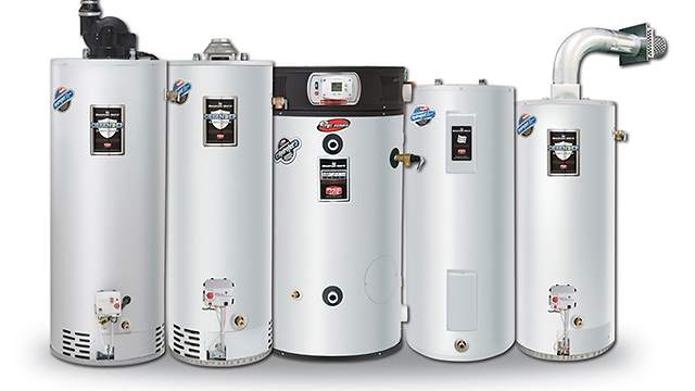 Bradford White Water Heaters Installed by PDM