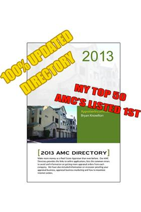 Best Appraisal Management Company Directory Updated