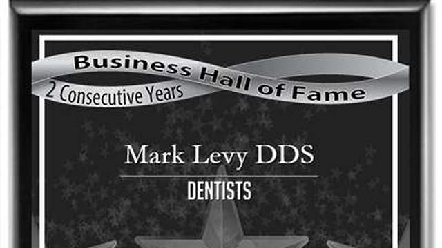 Hilliard Ohio Business Hall of Fame Mark Levy DDS