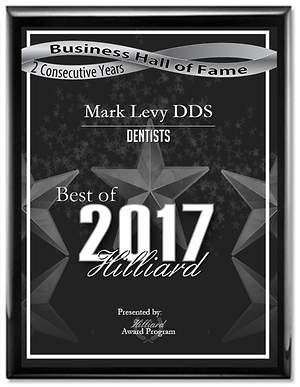 Mark Levy DDS Achieves Hilliard Business Hall of Fame