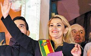 Who is Jeanine Áñez, Acting President of Bolivia