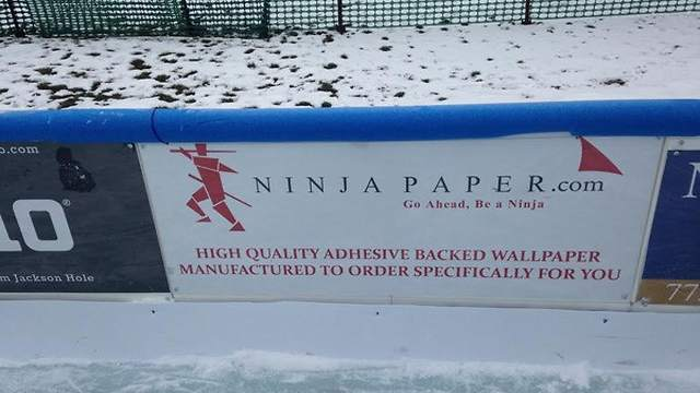 Ninja Paper Sponsors Wicker Park Ice Rink in Chicago