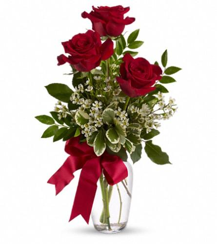 Alternative flowers to red roses for Valentines Day
