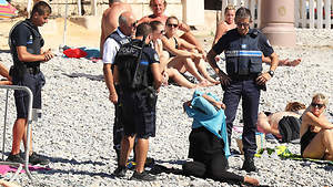 'Egalité, Fraternité' but No Burkini in France