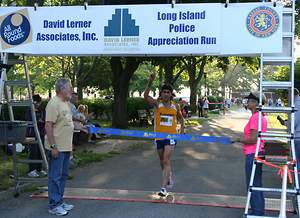 Long Island Police Run Sponsored by David Lerner Associates