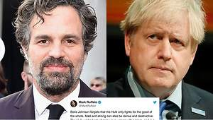 Mark Ruffalo Slammed Boris Johnson for Comparing Britain with Hulk