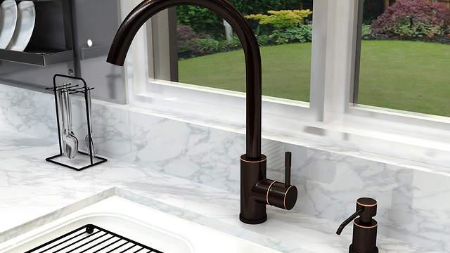 Oil Bronzed Foaming Sink Soap Dispensers