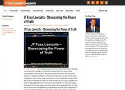 JT Foxx Lawsuits and Complaints Websites Launching To Fight Back