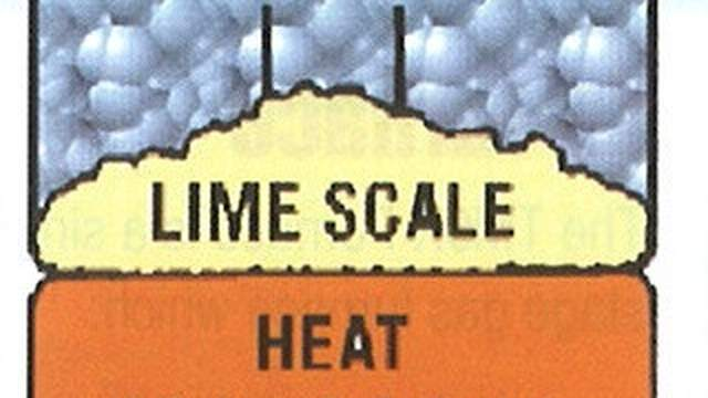 Heating and water suplly affected by limescale
