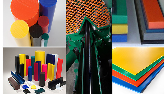 Artek Plastics Produces UHMW Rod in Colors
