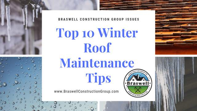 Top 10 Winter Roofing Maintenance Tips