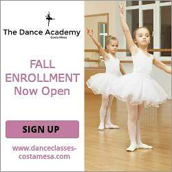 The Dance Academy Costa Mesa Gearing up for Fall/Winter Performance Season