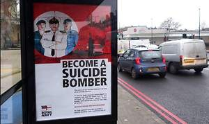 'Become a Suicide Bomber!' Spoof Royal Navy Posters Provoke Fury