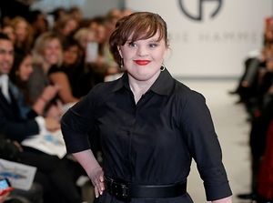 First Down's Syndrome Runway Model Inspires the World