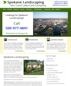 Spokane Landscaping Has Launched Their New Website In Order To Gain More Customers