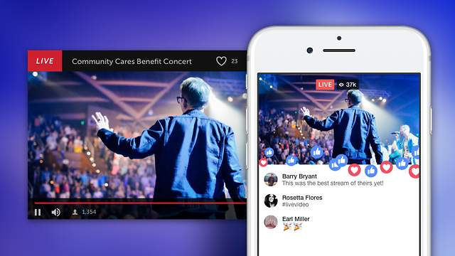 Stream Pre-Recorded Videos to Facebook Live