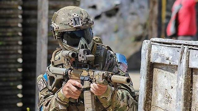 The Us Army Uses Paintball Guns To Enhance The Realism Of