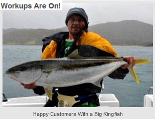 Fishing charters auckland announces the spring workups for Fishing charters auckland