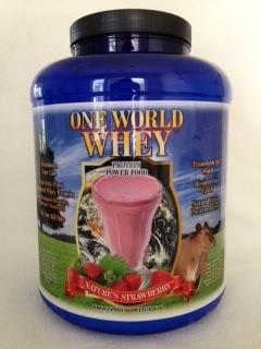 One World Whey Protein: Still The Industry Leader In Unheated Whey Protein