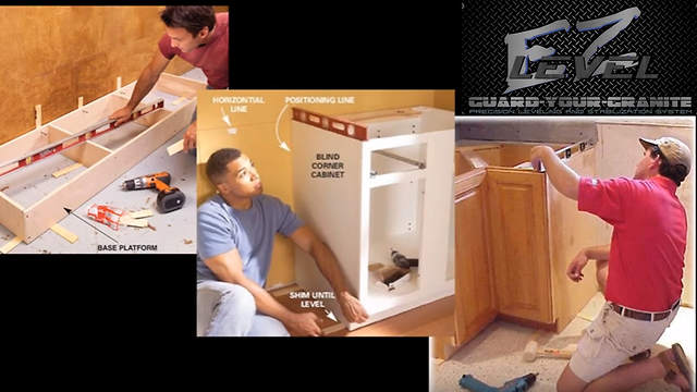 EZ-Level has uploaded dozens of videos detailing cabinet installation