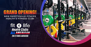 New Fayetteville Fitness Club Celebrates Grand Opening