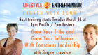 Learn to Grow Your Influence at the Lifestyle Entrepreneur Summit