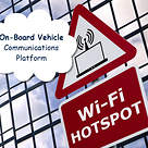 Vehicle onboard communication platform