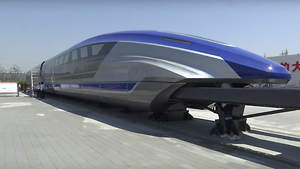 China Unveiled the Fastest Train in the World