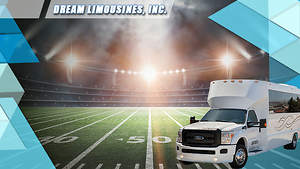 Always Arrive on Time at the Game With Dream Limousines Professional Limo Service