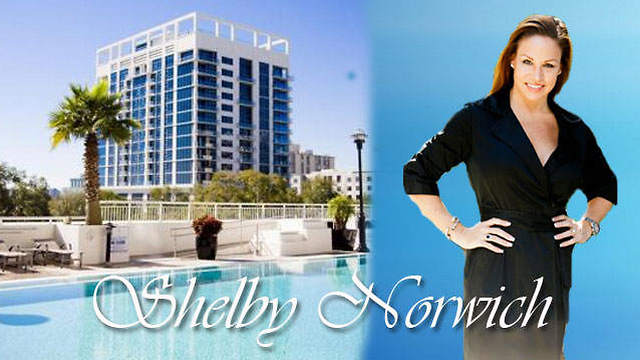 Shelby Norwich of Olde Town Brokers Celebrates Condo sale