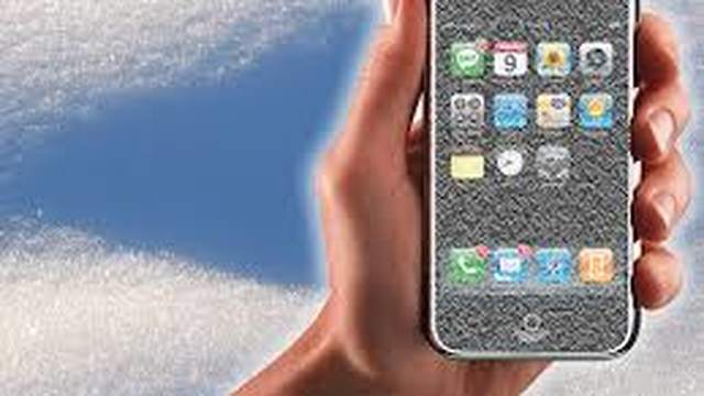 Frozen iPhone