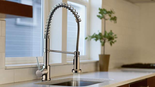 Pot Filler Kitchen Sink Faucet