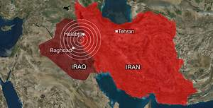 Earthquake Injured Over 3.000 People in Iraq And Iran