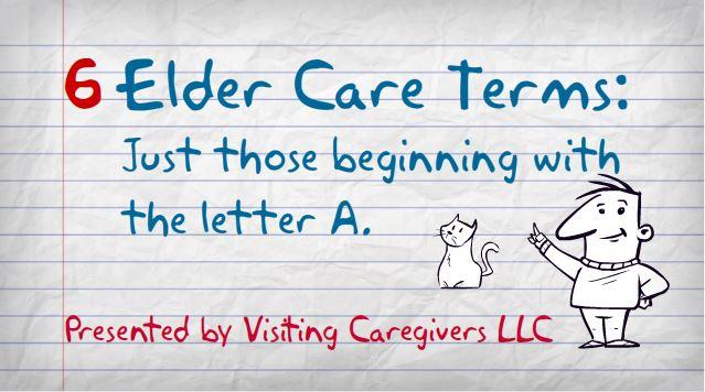 senior care terms videos