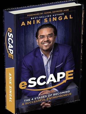 Anik Singal eSCAPE Entrepreneur Coaching Niche Business Success Book Launched