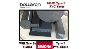 Boltaron 1050E PVC Type 1 Sheet Now Has a New Name