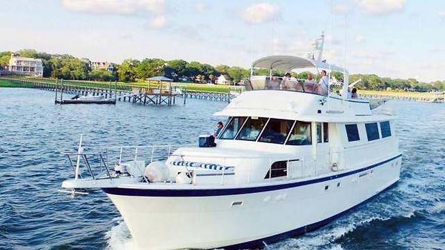 Motor Yacht Southern Comfort Charleston SC Overnight Booking