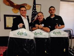 Lapels Dry Cleaning suits veterans just fine; cleans donated suits for Paralyzed Veterans