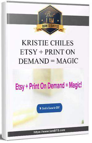 Kristie Chiles Etsy Print On Demand Magic T-Shirt Store Webinar Launched